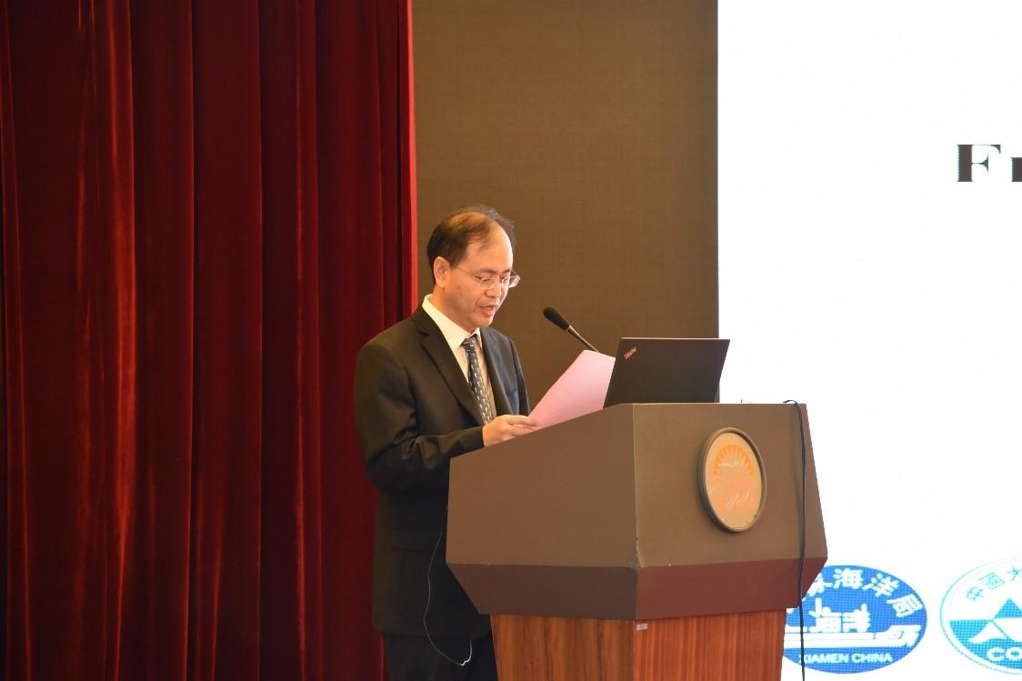Opening address by Prof. Bin Chen