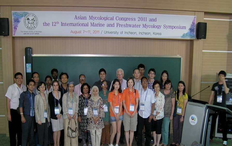 Group photograph of the IMMS meeting at the South Korea symposium.