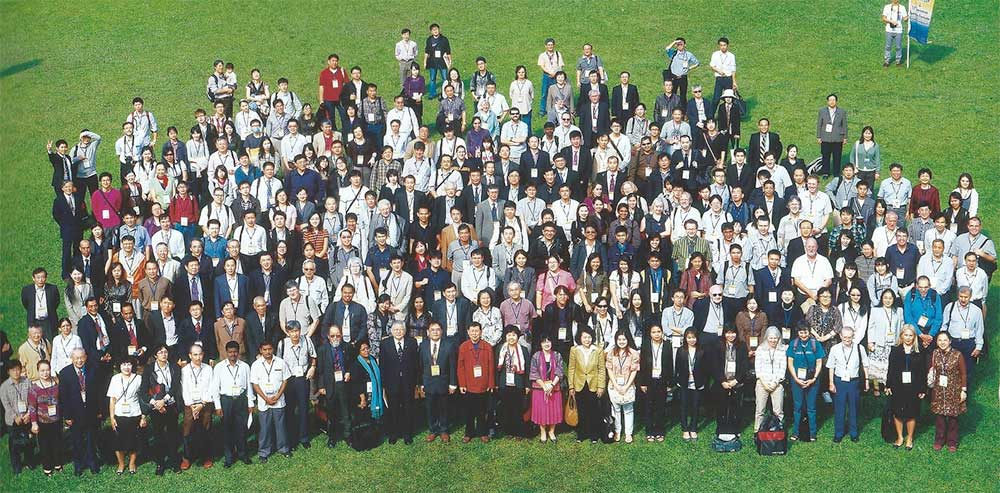 Group photograph of the participants at the AMC and IMFMS meeting Taiwan.