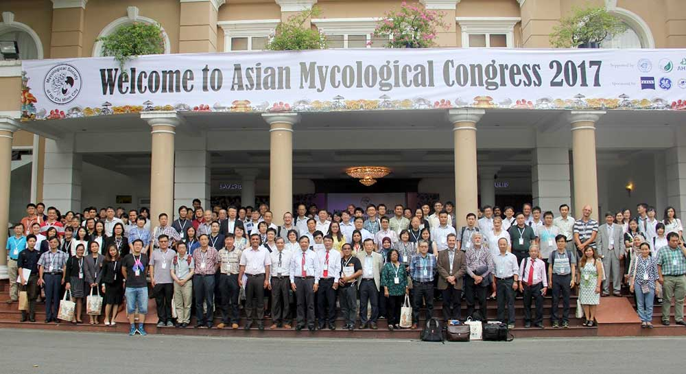 Delegates attending the Asian Mycological Congress in Viet Nam 2017 There was no meeting of IMMS